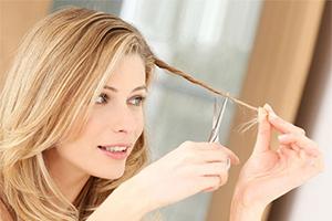 Сухие кончики волос, лечение