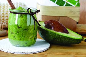 Увлажняющая маска с авокадо
